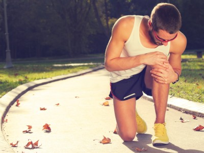 Jogging injury - warm up before running/exercising.